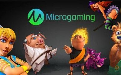 Topp 5 beste spill fra Microgaming